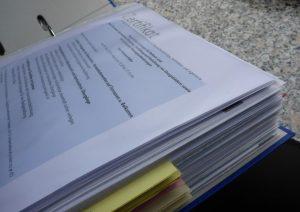 Prüfung Unterlagen