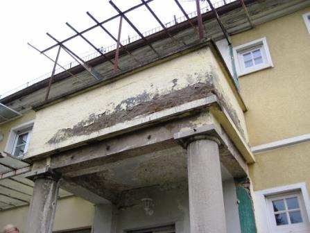 Gutachter Hauskauf: Bauschaden Balkon
