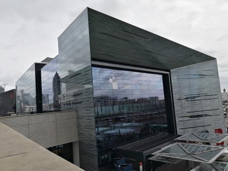 Besuch Messe Frankfurt