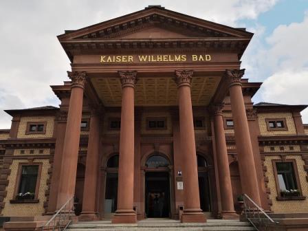 Eingangshalle Kaiser Wilhelms Bad