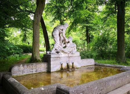 Denkmal im Kurpark