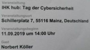 Weiterbildung Cyber-Sicherheit  09-19