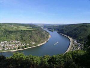 Wanderung Traumschleife Rheingold
